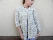 tricoter une veste irlandaise femme